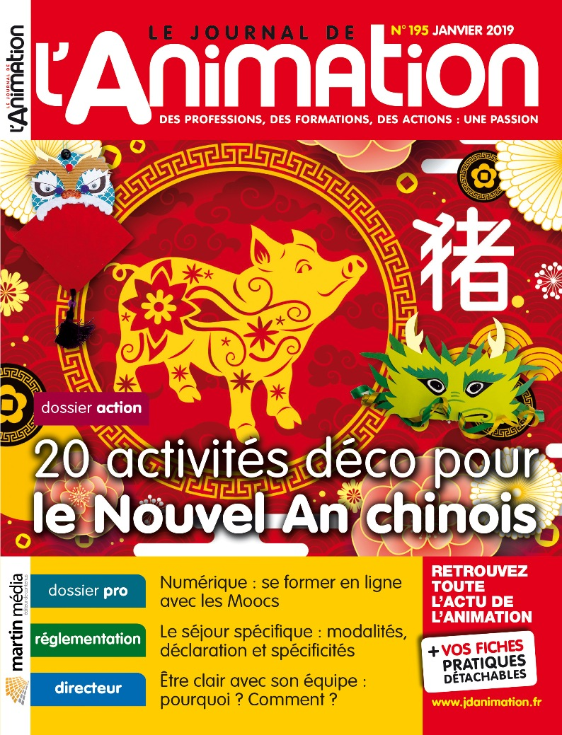 le journal de l u0026 39 animation n u00b0 195