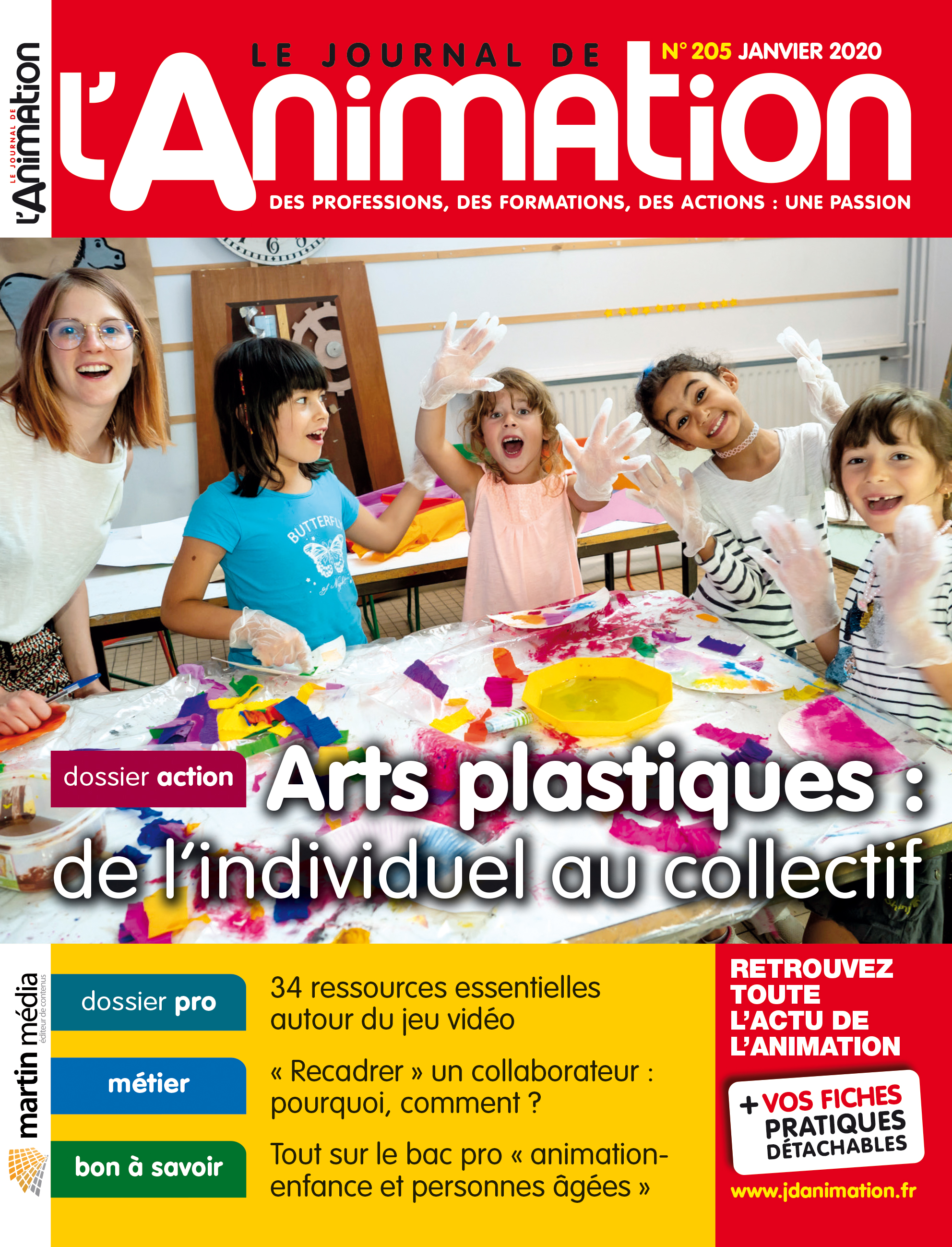 le journal de l u0026 39 animation n u00b0205