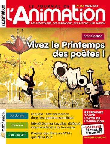 Le Journal de l'Animation n° 147