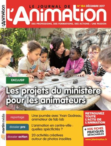 Le Journal de l'Animation n° 184