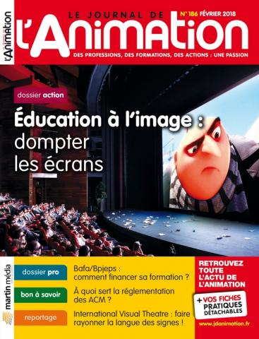 Le Journal de l'Animation n° 186