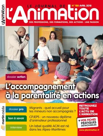 Le Journal de l'Animation n° 188