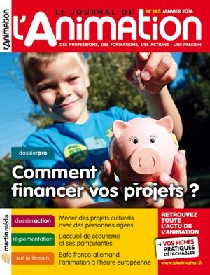 Le Journal de l'Animation n° 145