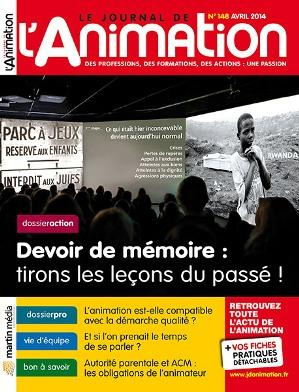 Le Journal de l'Animation n° 148