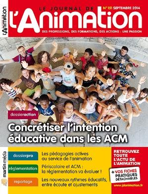 Le Journal de l'Animation n° 151