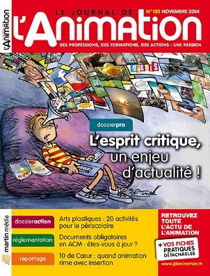 Le Journal de l'Animation n° 153