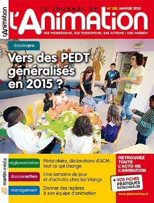Le Journal de l'Animation n° 155