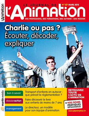 Le Journal de l'Animation n° 157