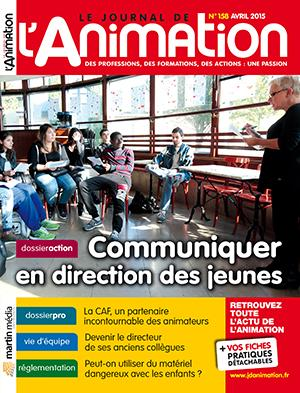 Le Journal de l'Animation n° 158