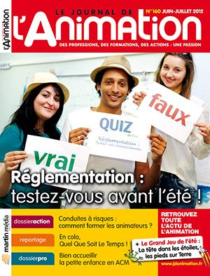Le Journal de l'Animation n° 160