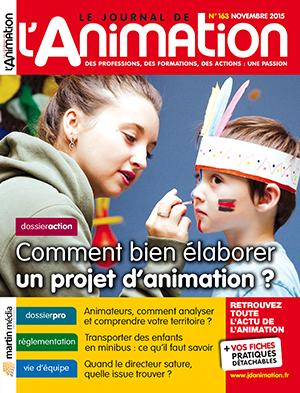 Le Journal de l'Animation n° 163