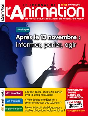 Le Journal de l'Animation n° 165
