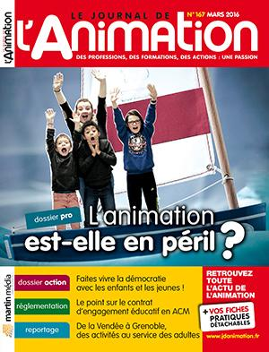 Le Journal de l'Animation n° 167