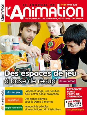 Le Journal de l'Animation n° 168