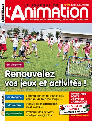 Le Journal de l'Animation n° 170