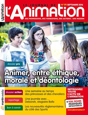 Le Journal de l'Animation n° 171