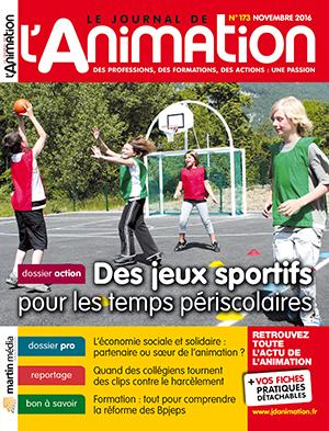 Le Journal de l'Animation n° 173