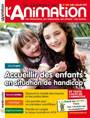 Le Journal de l'Animation n° 180