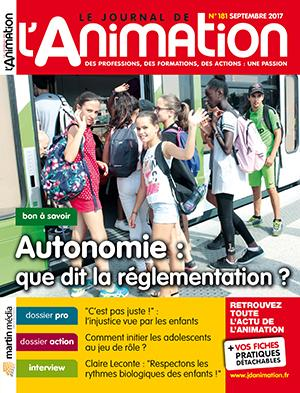 Le Journal de l'Animation n° 181