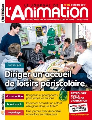 Le Journal de l'Animation n° 182