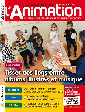 Le Journal de l'Animation n° 149
