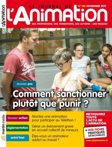 Le Journal de l'Animation n° 183