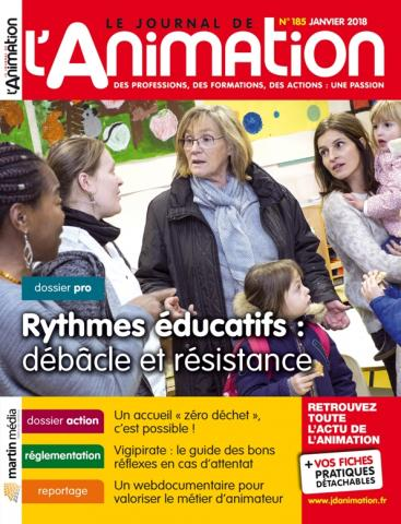 Le Journal de l'Animation n° 185