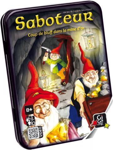 Test jeu : Saboteur