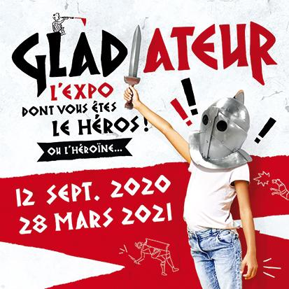 Gladiateur : l'expo