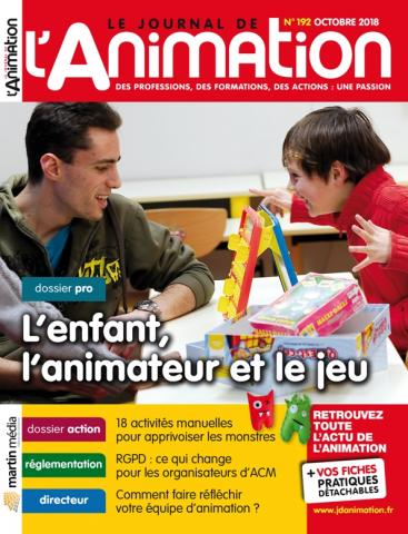 Le Journal de l'Animation n° 192