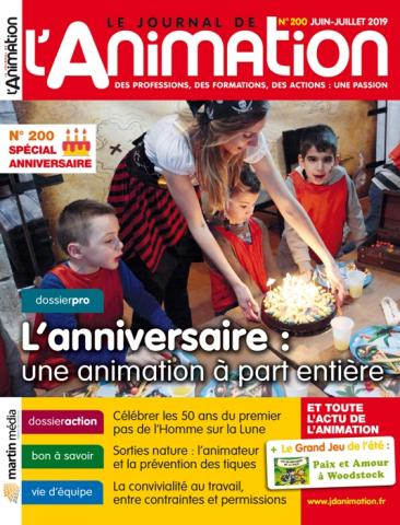 Le Journal de l'Animation n°200