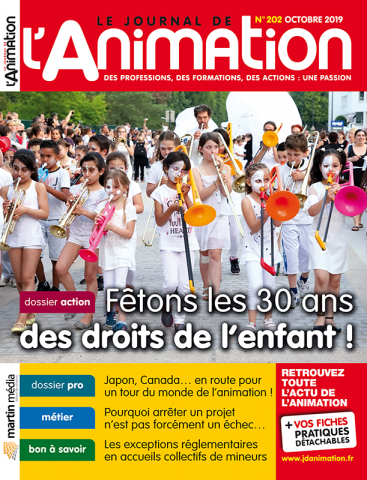 Le Journal de l'Animation n°202