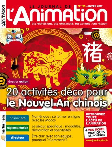 Le Journal de l'Animation n° 195