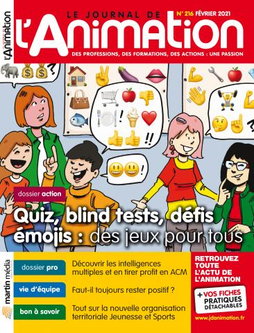 Le Journal de l'Animation n°216