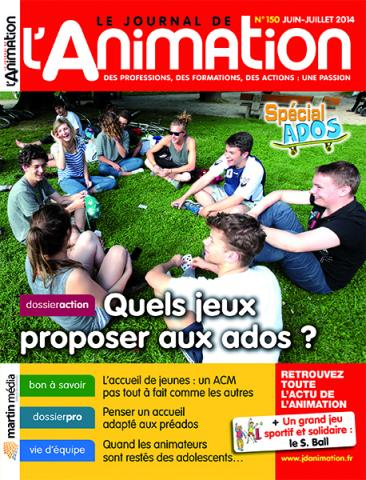 Le Journal de l'Animation n° 150