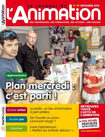 Le Journal de l'Animation n° 191