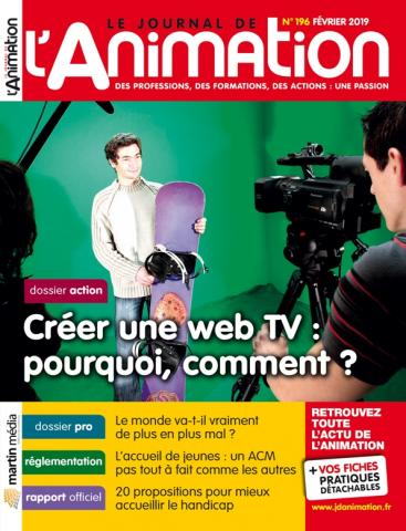 Le Journal de l'Animation n° 196