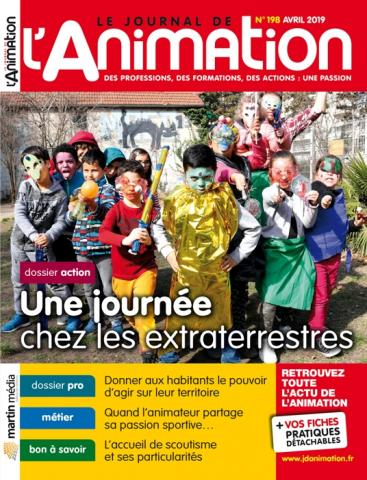 Le Journal de l'Animation n° 198