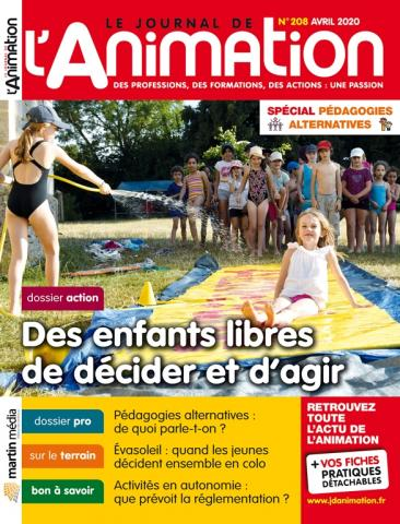 Le Journal de l'Animation n°208