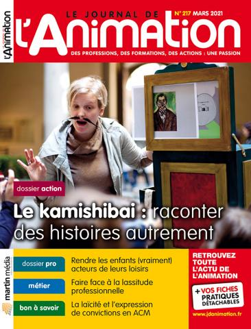 Le Journal de l'Animation n°217