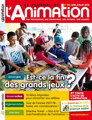 Le Journal de l'Animation n° 190