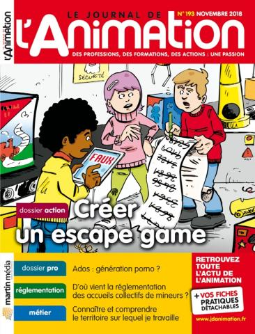 Le Journal de l'Animation n° 193