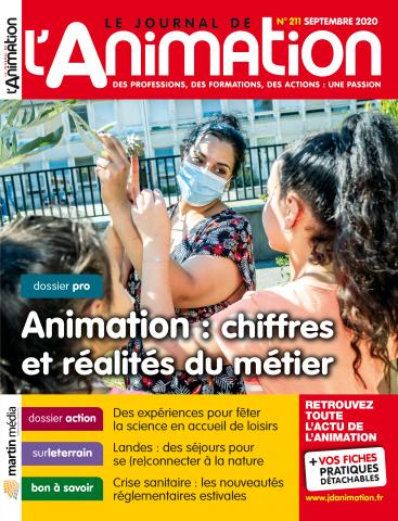 Le Journal de l'Animation n°211