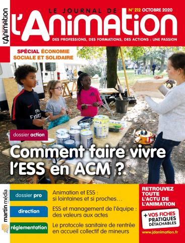 Le Journal de l'Animation n°212