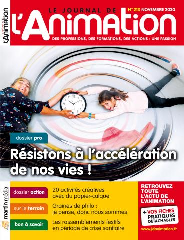 Le Journal de l'Animation n°213