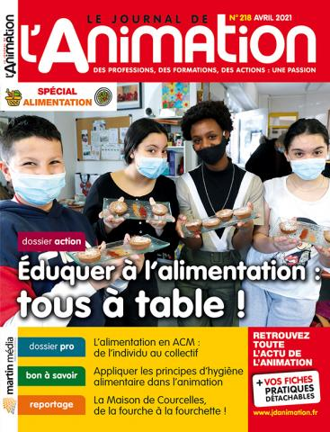 Le Journal de l'Animation n°218