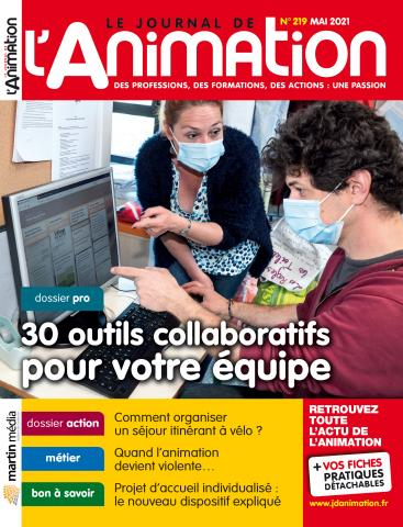 Le Journal de l'Animation n°219