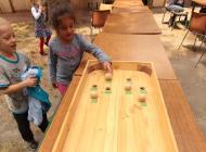 Des jeux géants pour jouer à distance raisonnable – photo © Laurence Fragnol