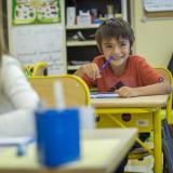 Pour les établissements scolaires, un nouveau protocole sanitaire très assoupli – Photo d'archives © Estelle Perdu