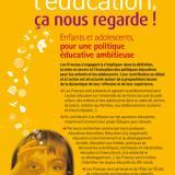 Pour une politique éducative ambitieuse